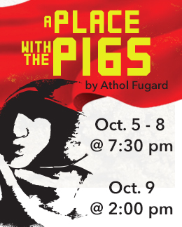A Place With The Pigs by Athol Fugard